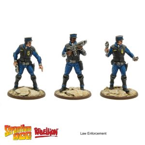 Law Enforcement expansion strontium dog tabletop game