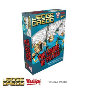 The League of Fatties expansion pack Dredd Miniatures Game