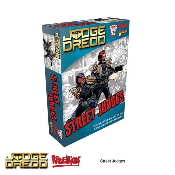 Street Judges Expansion Pack - Judge Dredd Miniatures Game