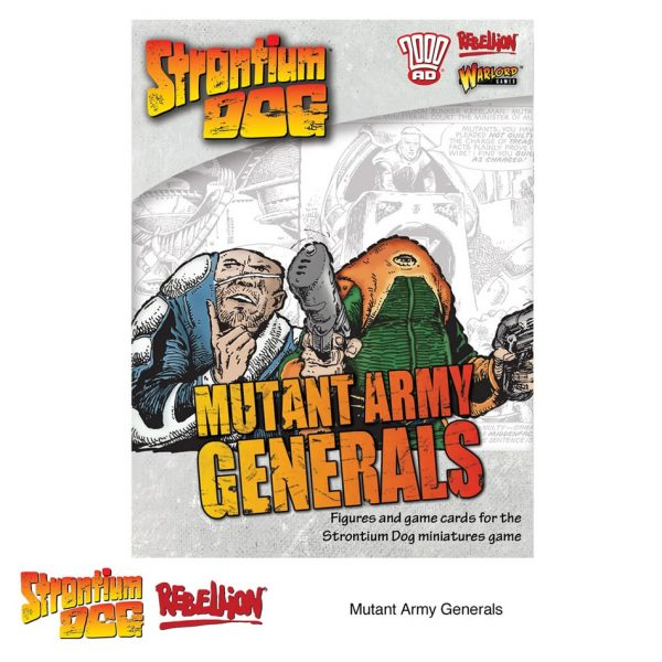 mutant army generals for strontium dog miniatures game