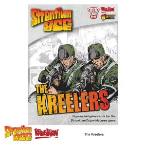 The Kreelers Strontium Dog miniatures game expansion