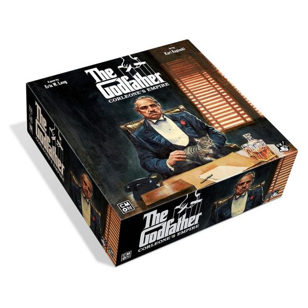 The Godfather: Corleon'e Empire board game