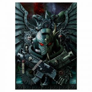warhammer 40,000 jigsaw art