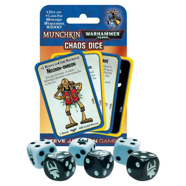 Munchkin Warhammer 40,000 Chaos Dice