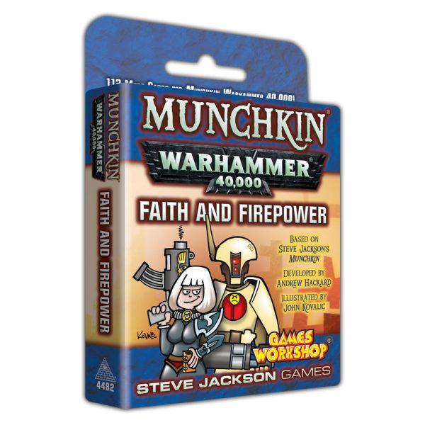 Warhammer 40K Munchkin Faith & Firepower expansion