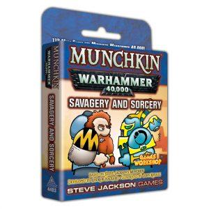 Savagery & Sorcery warhammer 40k munchkin expansion