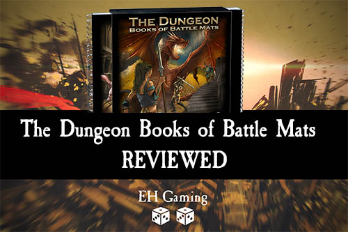 dungeons books of battle mats review