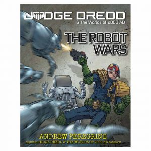 The Robot Wars Judge Dredd rpg book
