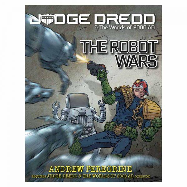 The Robot Wars Judge Dredd rpg book