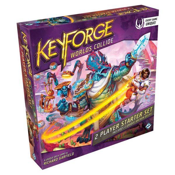 Keyforge World's Collide 2 Player Starter Set