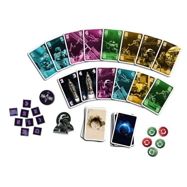 The Crew card game, english version, quest for planet 9