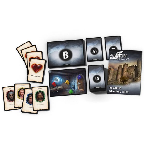 Adventure Games The Dungeon contents