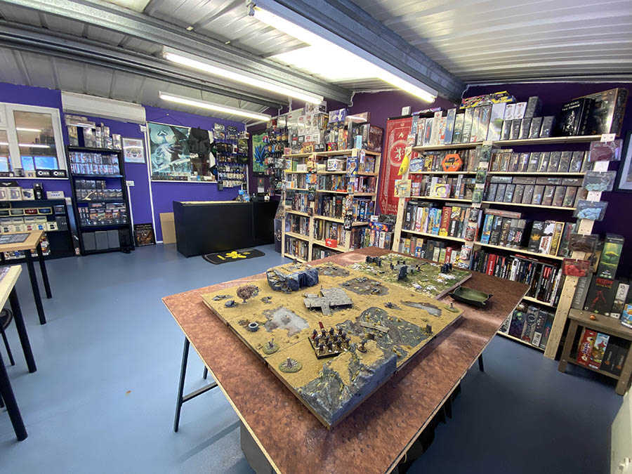 EH Gaming board game shop in York