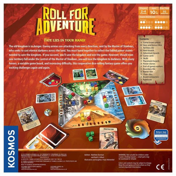 Roll for Adventure by Kosmos Games