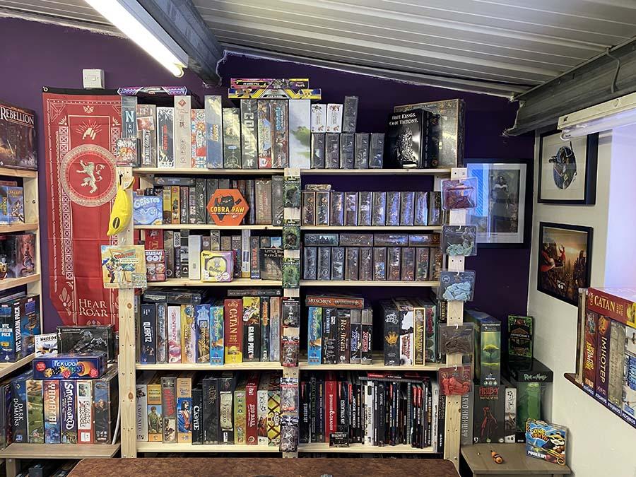 Tabletop games shop York