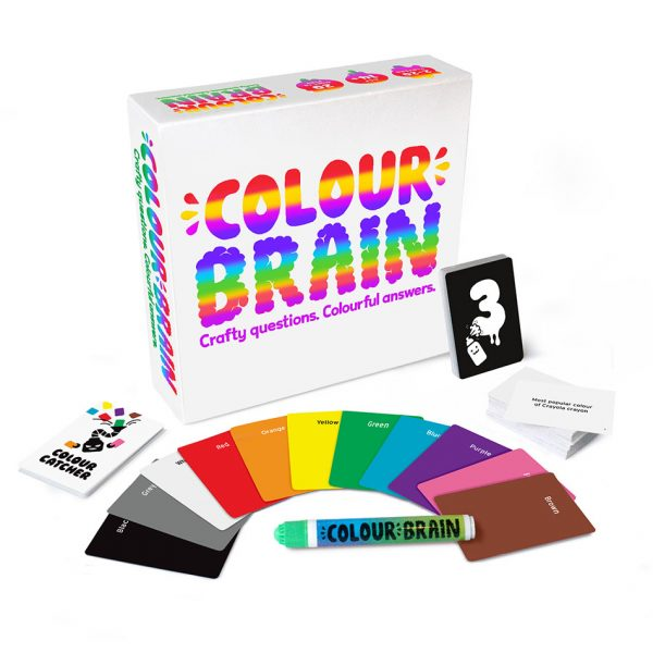 Colourbrain party game by big potato games