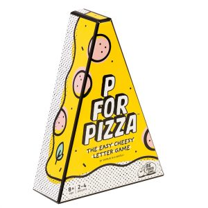 P For Pizza party game