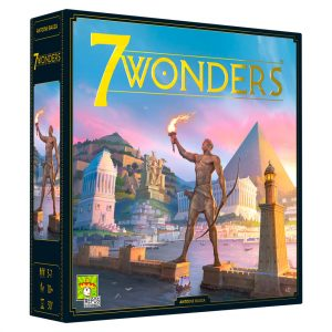 7 Wonders Second Edition board game