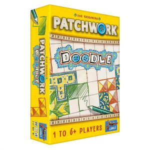 Patchwork Doodle Roll & Write Board Game