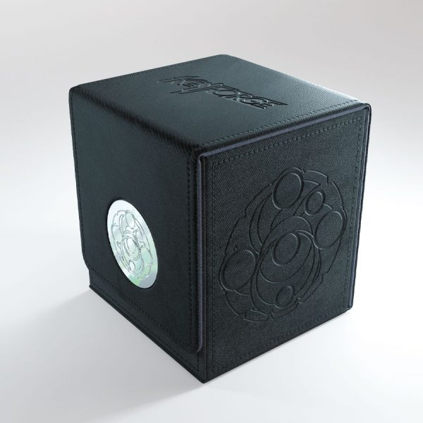 black keyforge vault by gamegenic