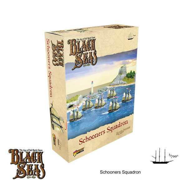 Schooners squadron Black Seas