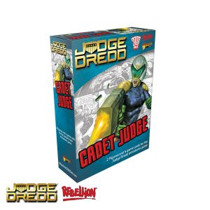 Judge Dredd miniatures game Cadet Judge