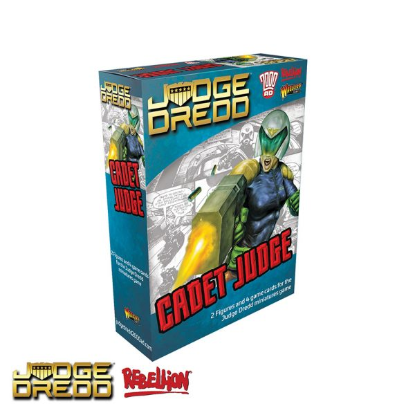 Judge Dredd miniatures game Cadet Judge