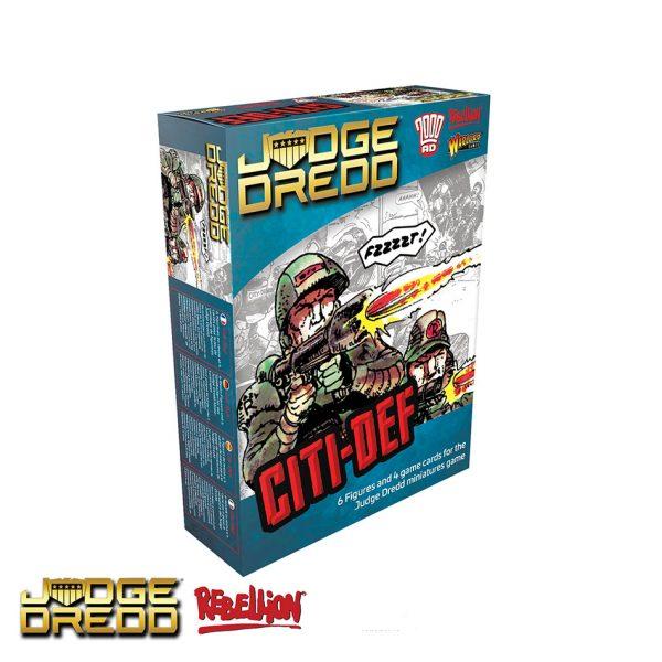 Cadet Judge Expansion Pack for Judge Dredd Miniatures Game