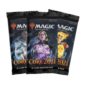 magic the gathering core set 2021 booster packs uk