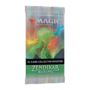 magic the gathering Zendikar Rising Collector Booster Pack