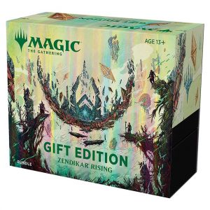 magic the gathering zendikar rising gift edition bundle