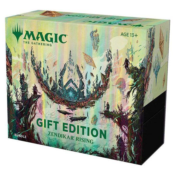 magic the gathering zendikar rising gift edition bundle