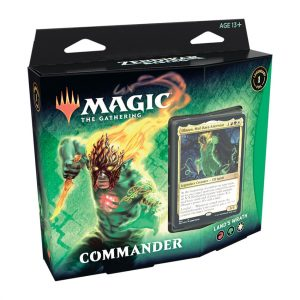 Magic the Gathering Land's Wrath Commander Deck