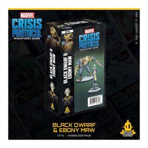Black Dwarf & Ebony Maw marvel crisis protocol