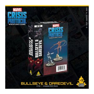Bullseye & Daredevil Character Pack - Marvel Crisis Protocol