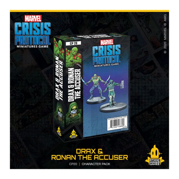 Drax & Ronan the Accuser marvel crisis protocol
