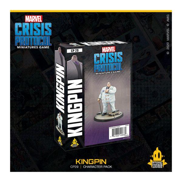 marvel crisis protocol Kingpin Character Pack