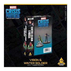 Vision & Winter Soldier character pack for marvel crisis protocol