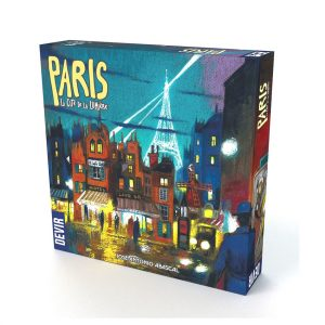paris city of lights board game by kosmos