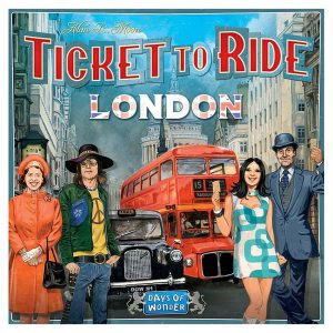 Ticket To Ride London Board Game