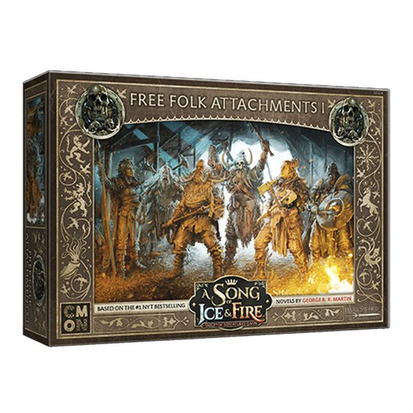 Free Folk Attachments 1: A Song of Ice & Fire Miniatures Game
