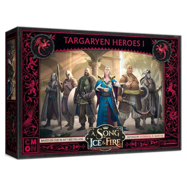 Targaryen Heroes 1: A Song of Ice & Fire Miniatures Game