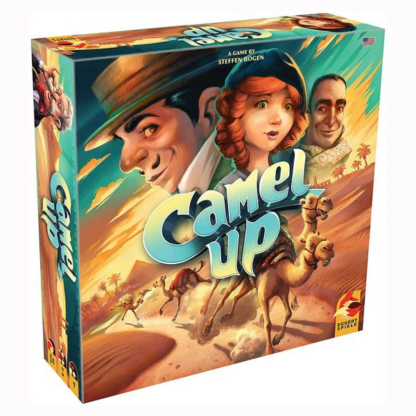 Camel Up Board Game (2nd Edition)
