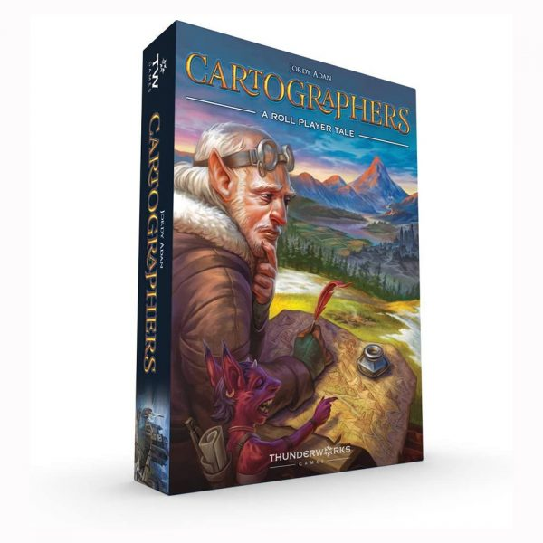 Cartographers: A Roll Player Tale game
