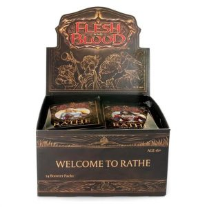 Flesh & Blood Welcome to Rathe Unlimited Booster Box