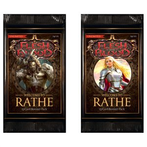Flesh & Blood trading card game welcome to rathe booster pack