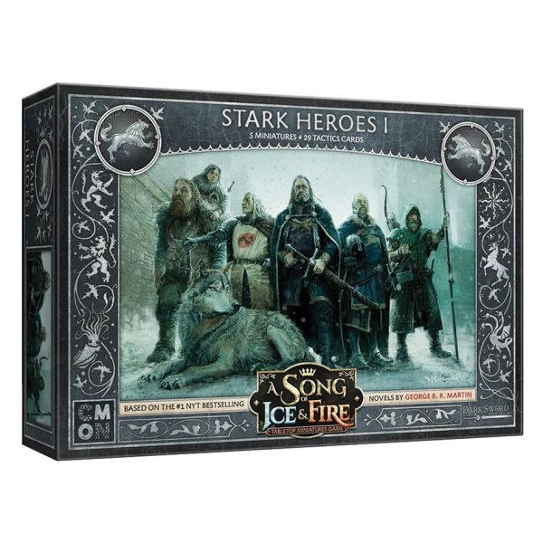 Stark Heroes I Expansion: A Song of Ice & Fire Tabletop Miniatures Game