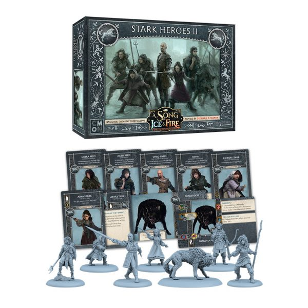Stark Heroes II Unit Expansion: A Song of Ice & Fire Tabletop Miniatures Game