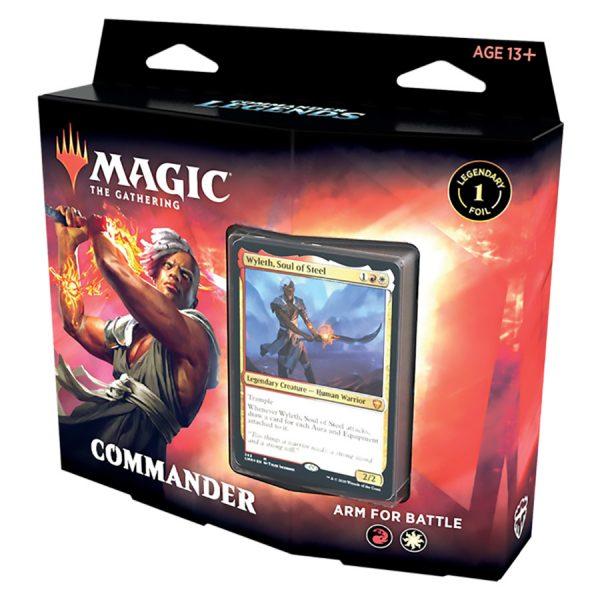 Magic The Gathering: Commander Legends Commander Deck – Arm For Battle