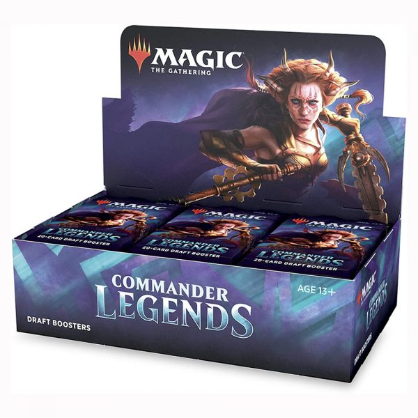 Magic The Gathering: Commander Legends Draft Booster Box